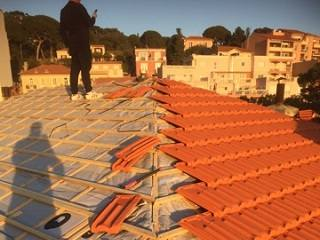 rénovation de toiture Drap